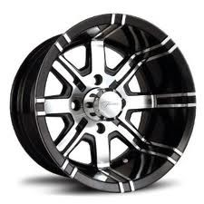 Fairway Alloys FA119 Aggressor -12' Black w/machine
