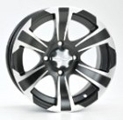 "ITP SS312 ATV Wheels - 12"" Machined"