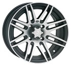 "ITP SS316 ATV Wheels - 12"" Machined"