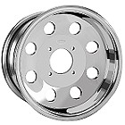 "ITP T-9 Pro Mod ATV Wheels - 12"" Polished"