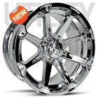"MSA M12 Diesel ATV Wheels - 14"" Chrome"