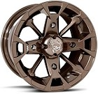 "MSA M17 Elixir ATV Wheels - 12"" Bronze"