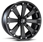 "MSA M20 Kore ATV Wheels - 14"" Matte Black"