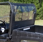 Seizmik Rear Dust Panel for Polaris Ranger (09+)
