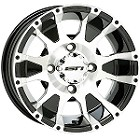 "STI C7 ATV Wheels - 12"" Machined"