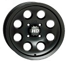 "STI HD1 ATV Wheels - 12"" Slik Kote Charcoal"