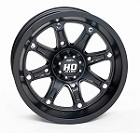 "STI HD4 ATV Wheels - 12"" Matte Black (Limited Edition)"
