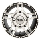 "Super Grip 5 Star ATV Wheels - 12"" Machined"