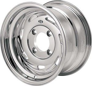 "Super Grip Blade ATV Wheels - 12"" Polished"