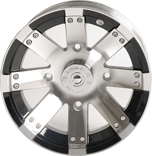 "Vision 158 Buckshot ATV Wheels - 12"" Machined"