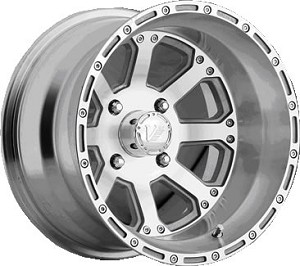 "Vision 159 Outback ATV Wheels - 12"" Machined"