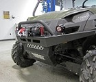 Warn Bumper with Winch Mount for Polaris Ranger