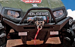 Warn Bumper / Winch Mount for Polaris RZR