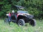 "Super ATV 5"" Lift Kit with High Clearance +1.5 Offset A-Arms for Polaris RZR 800"