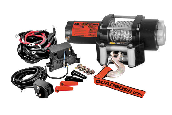 Quadboss 2500 lb winch with wire cable cheapraybanclubmaster Images