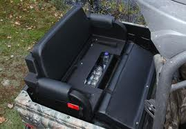 124-0015 Wes Industries Contour ATV Bench Seat