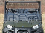 Half Windshield (Clear or Tinted) for Mid Sized Polaris Ranger by Dot Weld