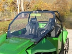 Full Windshield (Clear or Tinted) for Arctic Cat Wildcat 1000 by Dot Weld