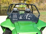 Half Windshield (Clear or Tinted) for Arctic Cat Wildcat 1000 by Dot Weld
