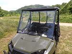 Full Windshield (Clear or Tinted) for Mid Size Polaris Ranger by Dot Weld