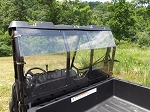 Rear Windshield (Clear or Tinted) for Mid Size Polaris Ranger by Dot Weld