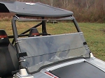 Fold Down Windshield (Clear or Tinted) for Polaris RZR by Dot Weld