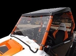 Full Windshield (Clear or Tinted) for Polaris RZR by Dot Weld