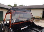 Rear Windshield (Clear or Tinted) for Polaris RZR by Dot Weld