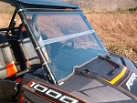 Fold Down Windshield (Clear or Tinted) for Polaris RZR XP1000 / 900 / XP Turbo by Dot Weld