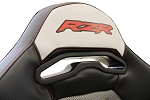 DragonFire Harness Pass Through Bezel (For Polaris RZR Stock Seats)