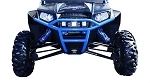 Dragonfire RacePace Voodoo Blue Front Bash Bumper for Polaris RZR