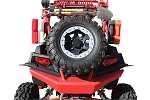 Dragonfire RockSolid Spare Tire Carrier for Polaris RZR XP 4 900