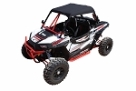 Dragonfire Racing Sun Top for Polaris RZR XP 1000