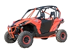 Dragonfire HiBoy Doors for Can-Am Maverick & Commander