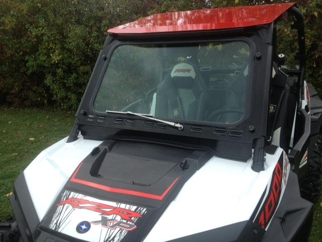 Emp Glass Windshield With Wiper For Polaris Rzr 1000 Amp Rzr 900