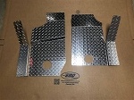 EMP Diamond Plate Floorboard Set for Polaris General