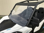 EMP Hard Coated Polycarbonate Full Windshield for Can-Am Maverick Trail / Sport