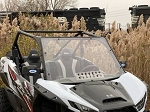 EMP Hard Coated Full Windshield with Vent for Kawasaki Teryx KRX 1000