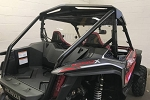 EMP Hard Coated Polycarbonate Rear Windshield/Cab Back for Honda Talon Models
