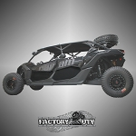 Factory UTV Lower Door Inserts for Can-Am Maverick X3 Max