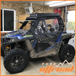 2017 Polaris RZR 900 Trail with aftermarket wheels and tires