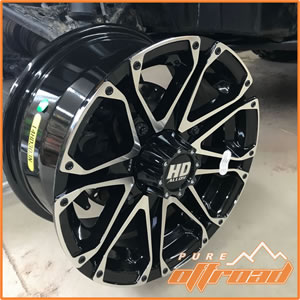 STI HD3 6+1 RZR Wheels