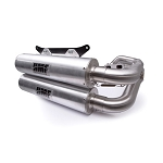 HMF Performance Series Dual Full Exhaust System for Polaris RZR RS1