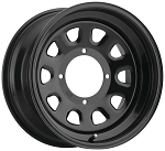 ITP Delta Steel Wheels - 14 Inch Black