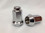 10x1.25 Beveled Lug Nuts, Chrome