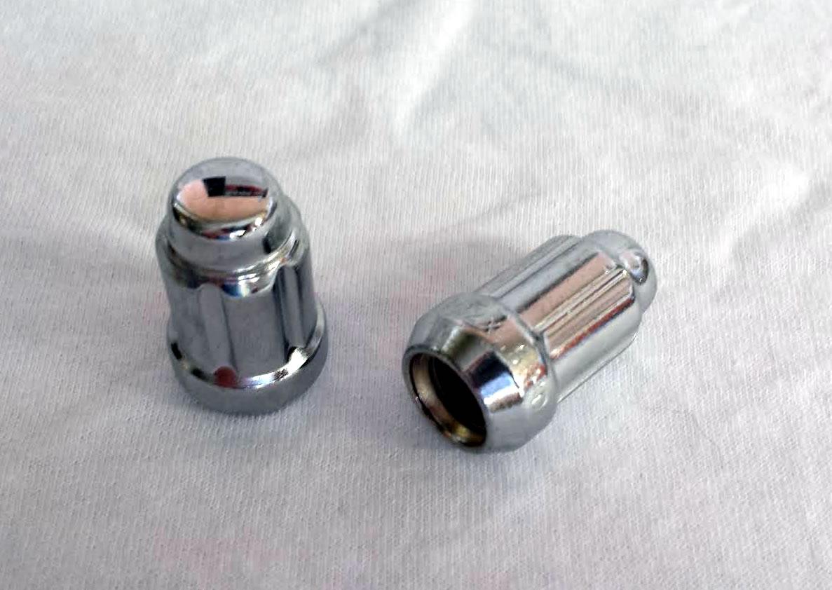12mm X 1 5 Spline Drive Lug Nuts In Chrome For Polaris