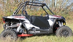 ModQuad RZR XP 1000 Black Aluminum Full Doors