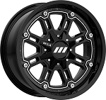Motosport Alloys M30 Throttle ATV Wheels, 16 Inch (with optional mounted tires)
