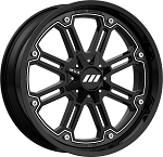 Motosport Alloys M30 Throttle ATV Wheels, 20 Inch (with optional mounted tires)