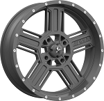 MSA M32 Axe Rims, 20 inch Matte Gray (with optional mounted tires)